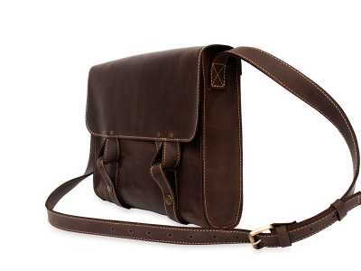 Satchel bag brown