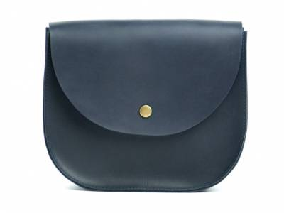 Bag blue Saddle