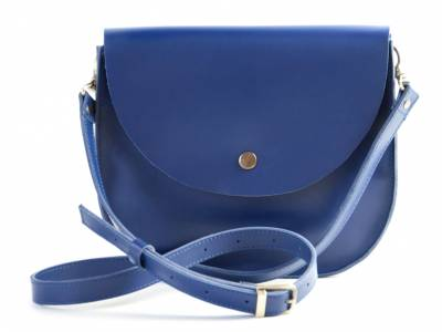 Bag royal blue Saddle