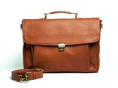 Briefcase Vintage leather