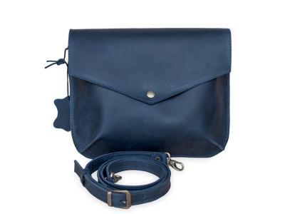 Flapbag mini blue