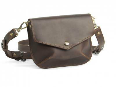 Flapbag Frida brown
