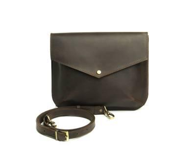 Flapbag mini brown