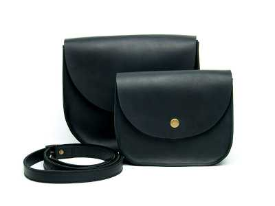 Saddle black mini
