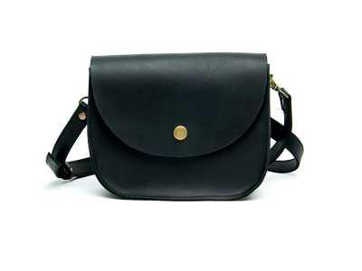 Saddle black mini
