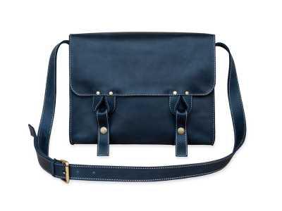 Satchel bag blue