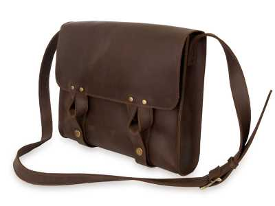 Satchel bag brown 2
