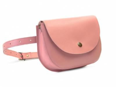 Waist bag Mira powder pink