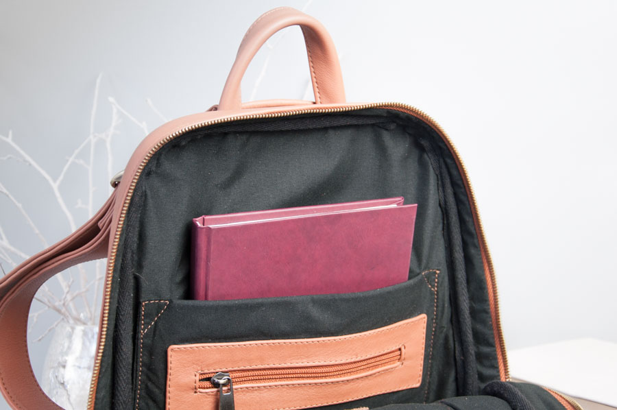 leather backpaсk monik 108